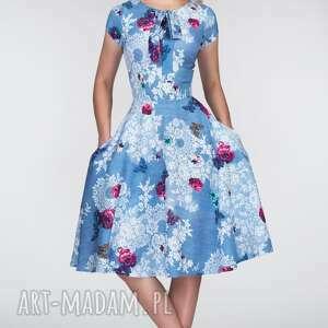 sukienki wiązanie sukienka chloe ii midi bonita