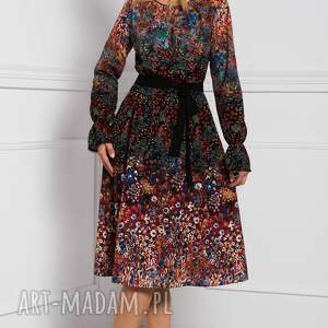 szare sukienki midi sukienka colin celestia