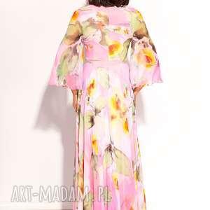 wesele sukienki różowe sukienka dalida