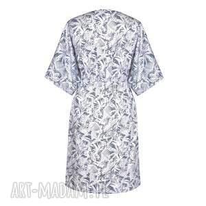 białe sukienki palmy sukienka damska   palme blu