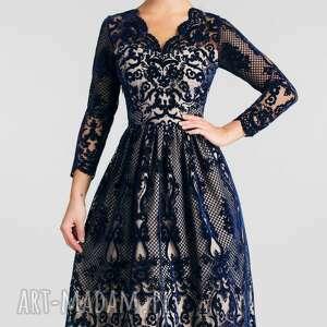 unikatowe sukienki sukienka na wesele daria midi nikoletta
