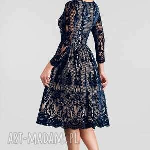niebieskie sukienki sukienka na wesele daria midi nikoletta