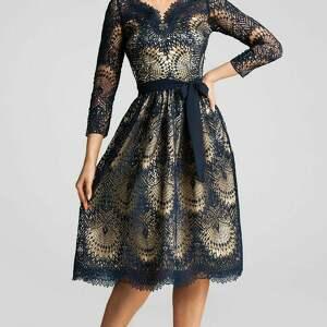 sukienki złota sukienka daria 3/4 midi josefina