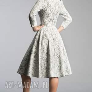 kieszenie sukienki białe sukienka donna midi noemi