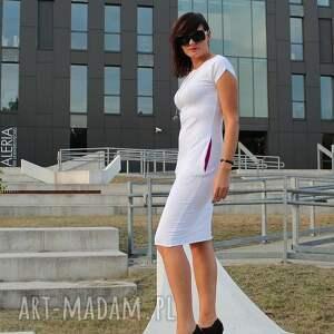 sukienki sukienka niezwykle kobieca ołówkowa, dresowa