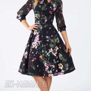 sukienki wiżanie sukienka ebony midi aurelia