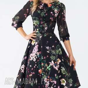 wiżanie sukienki sukienka ebony midi aurelia