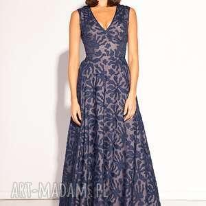 niebieskie sukienki wesele sukienka ema