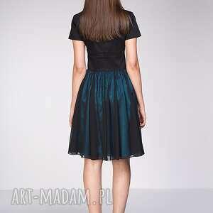 czarne karnawał sukienka emily