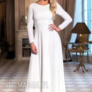 sukienki sukienka z kolekcji premium uszyta z tkaniny
