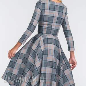 sukienki midi sukienka eve 3/4 jenna