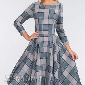 unikatowe sukienki pełne sukienka eve 3/4 midi jenna