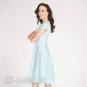 elegancka-sukienka sukienki sukienka felicia niebieska roz
