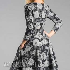 handmade sukienki rozkloszowana sukienka fler midi dafne