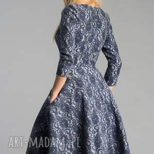 niebanalne sukienki sukienka fler midi tamara