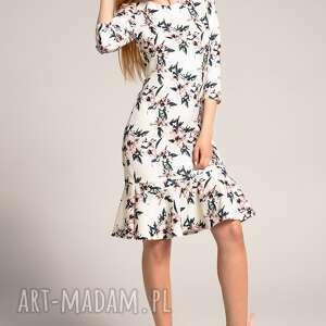 sukienki sukienki-do-pracy sukienka francesca floral
