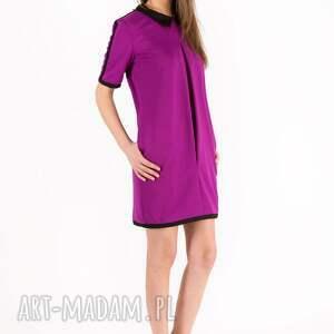 niepowtarzalne sukienki sukienka fuchsia bebe dress