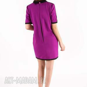 różowe sukienki sukienka fuchsia bebe dress