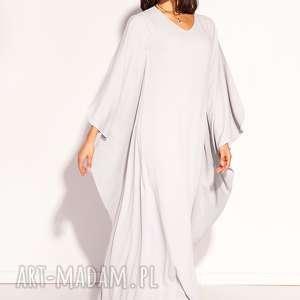jasnoszara sukienki sukienka gala