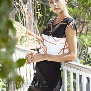 ręcznie robione sukienki sukienka geometryczna