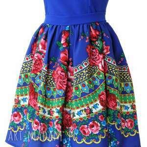 sukienki sukienka góralska folkowa z tiulem