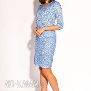 niebieskie sukienki ołówkowa sukienka hana