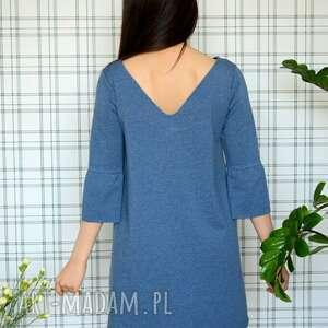 sukienki dzianina sukienka hippi s/m/l/xl