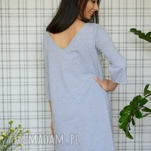 sukienki eko sukienka hippi s/m/l/xl szary