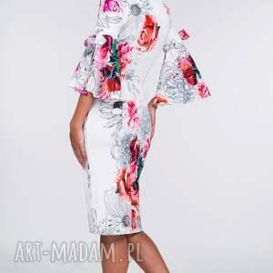 handmade sukienki dopasowana sukienka ina midi delicja