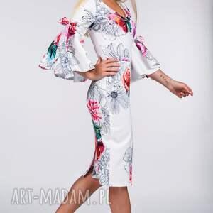 handmade sukienki midi sukienka ina delicja