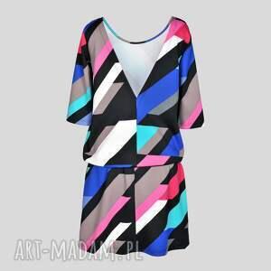 sylwester sukienki sukienka indietro multicolor
