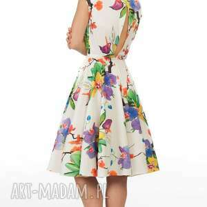 eleganckie sukienki midi sukienka ines justine