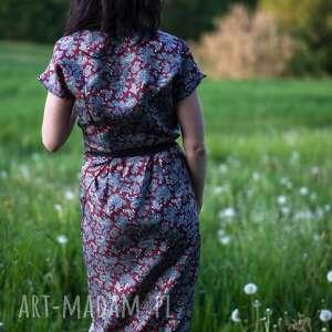 handmade sukienki jedwab sukienka japonka