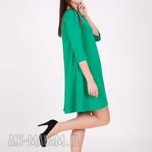 hand made sukienki sukienka 7 - jasno zielona
