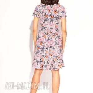 różowe sukienka juanna
