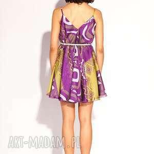 sukienki jedwabna sukienka kala