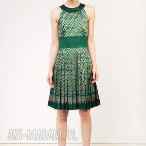 hand made sukienki jedwab sukienka kamala