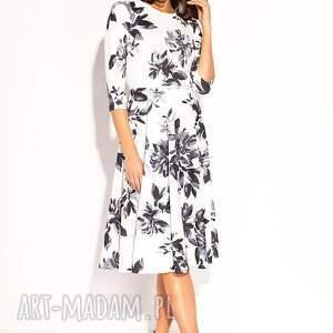 ręcznie zrobione sukienki midi sukienka kamea