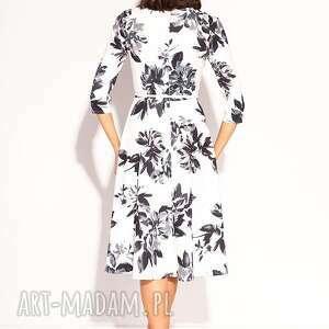 midi sukienki szare sukienka kamea
