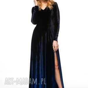 sukienki welurowa sukienka kathuna