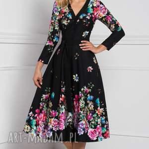 unikatowe sukienki sukienka kensa total midi belinda