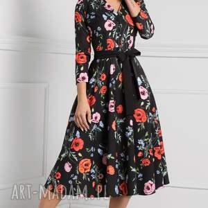 sukienki: sukienka total midi
