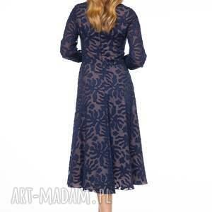 beżowe sukienki midi sukienka keteran
