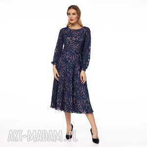 awangardowe sukienki wzorzysta sukienka keteran