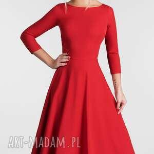 efektowne sukienki sukienka klara 3/4 total midi