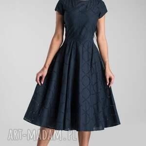 intrygujące sukienki sukienka klara total midi granat