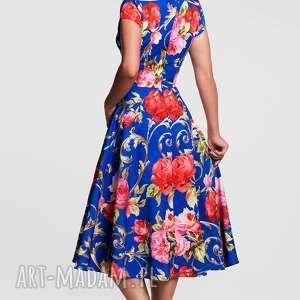 unikatowe sukienki sukienka klara total midi caroline