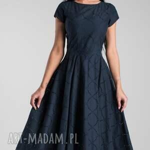 sukienka total midi sukienki klara granat