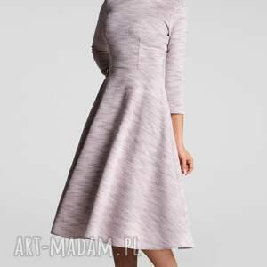 melanż sukienka klara 3/4 total midi