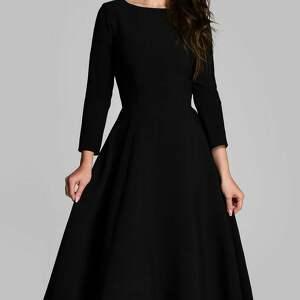sukienki rozkloszowana sukienka klara 3/4 total midi